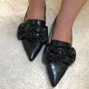 Black flats from Zara